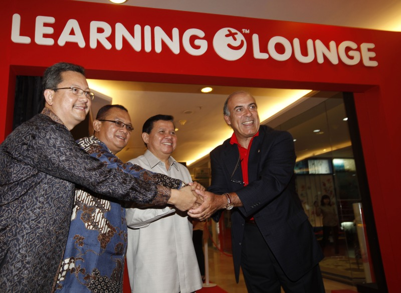Coca-Cola learning lounge Jakarta